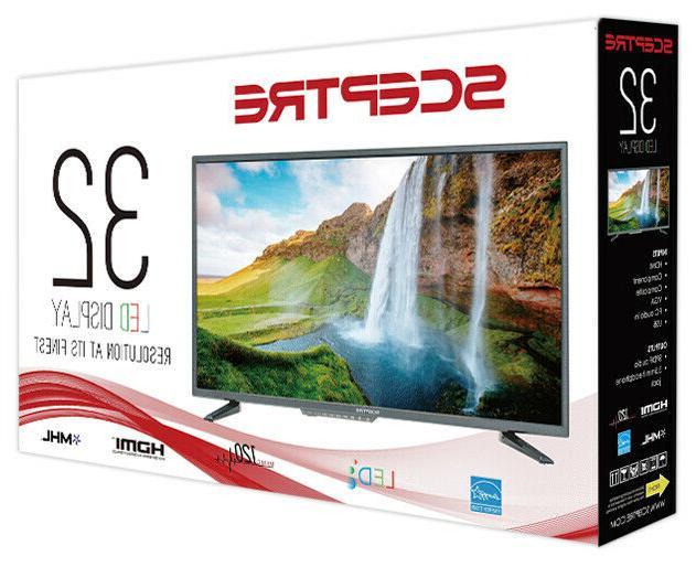 """32"""" TV Wall Mountable 720p New"""