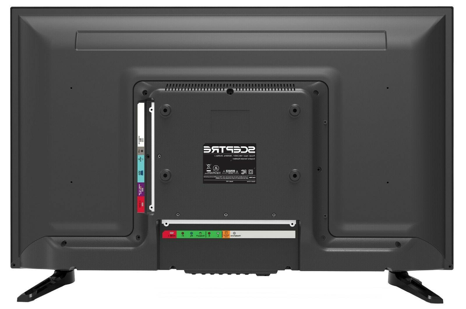 "32"" Inch LED TV Screen Wall USB HDMI 720p New"