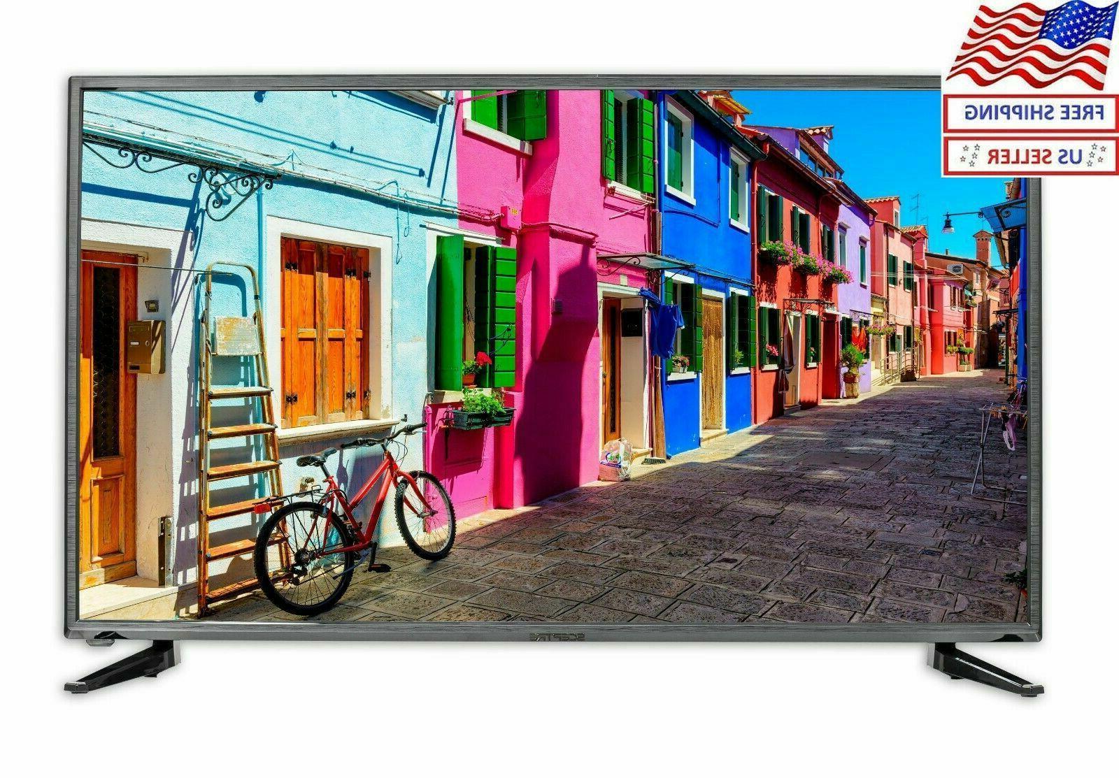40 flat screen fhd usb hdmi 1080p