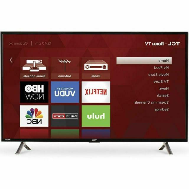 TCL 40 Inch Full HD 1080p 120Hz Roku Smart LED TV