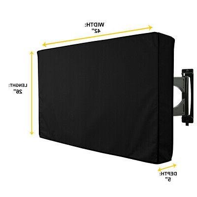 42 outdoor tv cover for flat screens