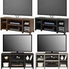 "50"" Flat Screen TV Stand Wood Storage Cabinet Home Media C"