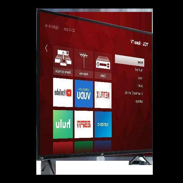 """TCL 50"""" Class 4K TV 4 Series """"TV"""" Flat New Wifi"""