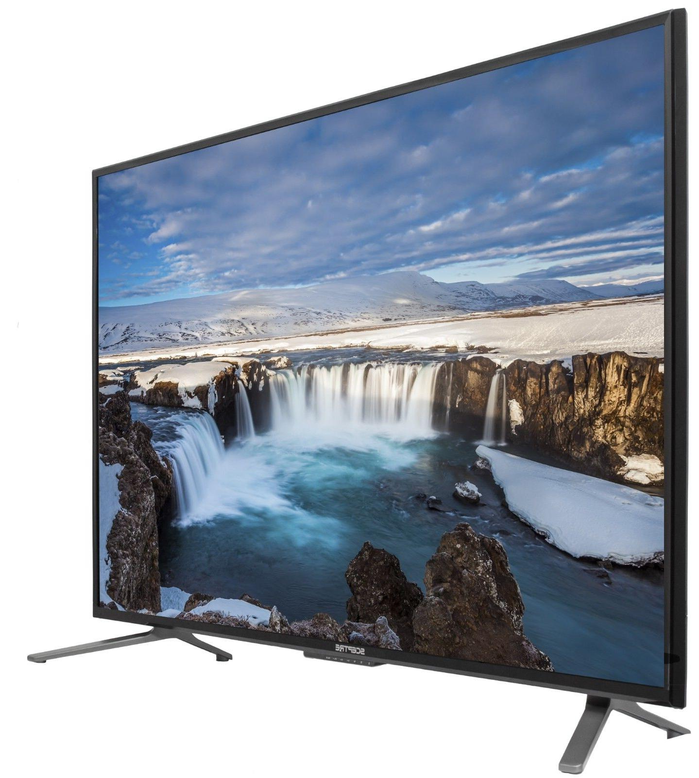 "55"" 4K Ultra HD LED TV HDTV  Slim Flat Screen 2160p UHD Scep"