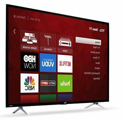 TCL - LED Series 2160p Smart TV with HDR TV