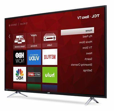 "TCL 55"" - Series - 2160p - Smart - TV TV"