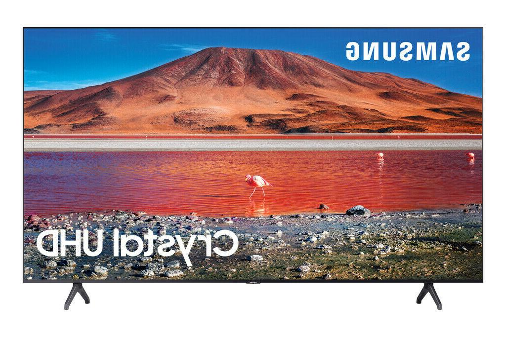 "SAMSUNG 65"" Class 4K Crystal UHD  LED Smart TV with HDR UN65"