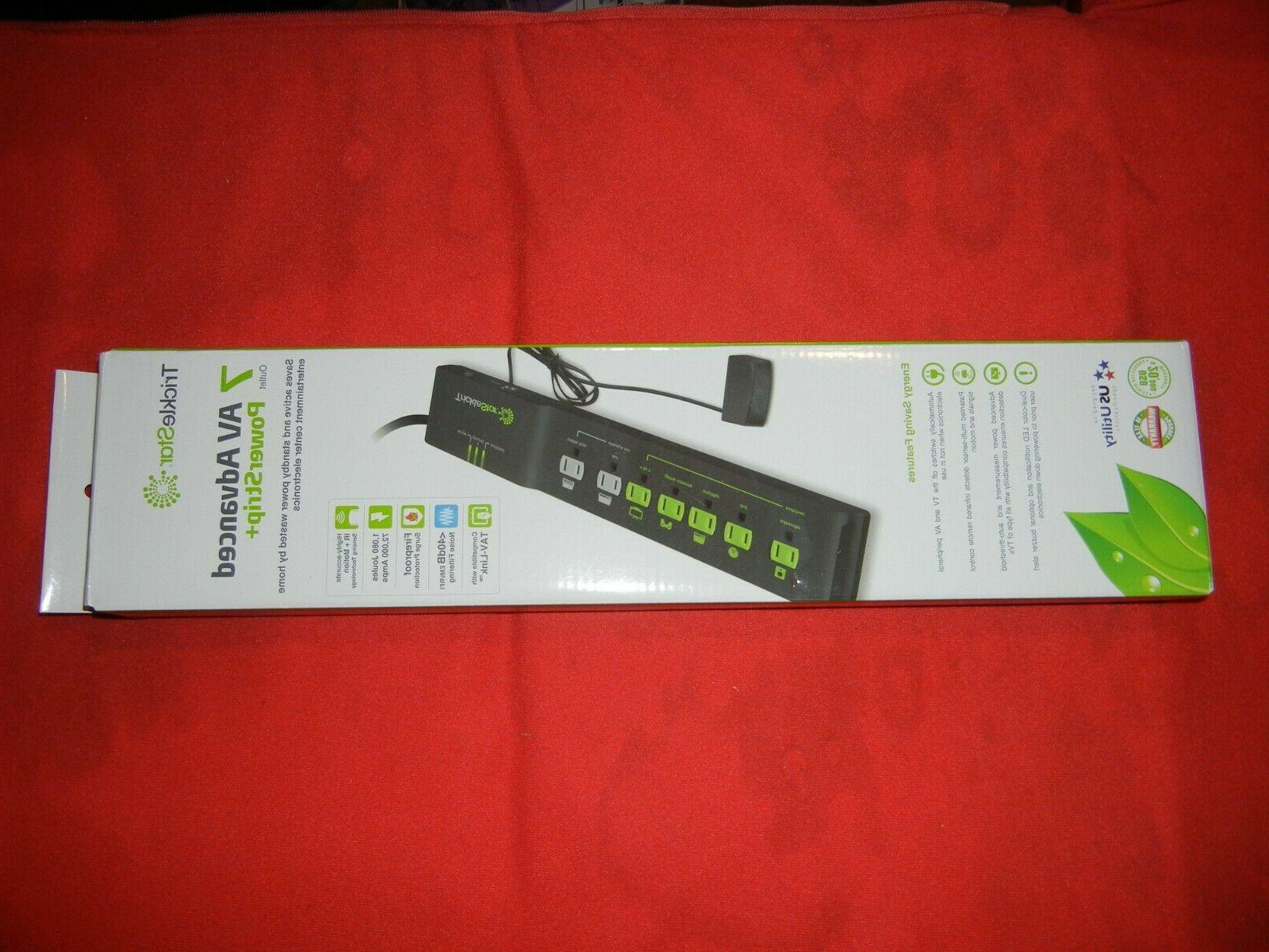 7 advanced outlet energy saving power strip
