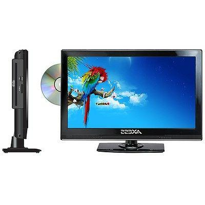 AXESS TVD1801-13 13.3-Inch LED HDTV, Features 12V Car Cord T
