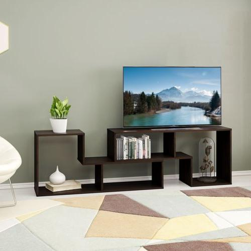 Flat Screen Stand Wood Storage Cabinet New