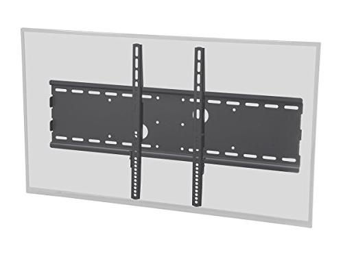 Monoprice Titan Series Wide Fixed TV Wall Mount Bracket for