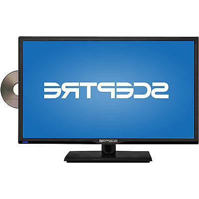 "Sceptre 24"" 1080p 60Hz Class LED HDTV with Built-in DVD Play"