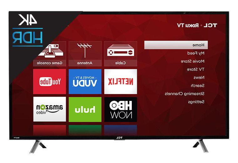 TCL Class 4K Resolution With Roku LED TV