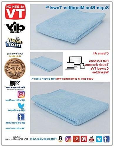 Flat Winning Microfiber Screen Cleaner/Touch Cleaner/Flat Screen Cleaner