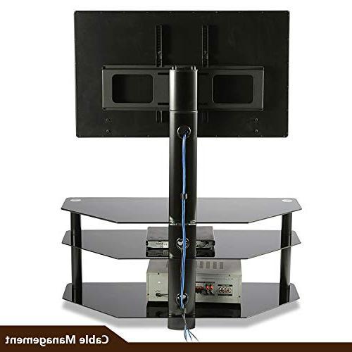 TAVR Swivel Floor TV Panel Entertainment 32 37 42 47 50 inch QLED Screen TVs TW1002
