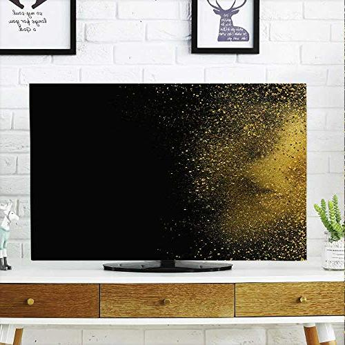 dust resistant television protector black
