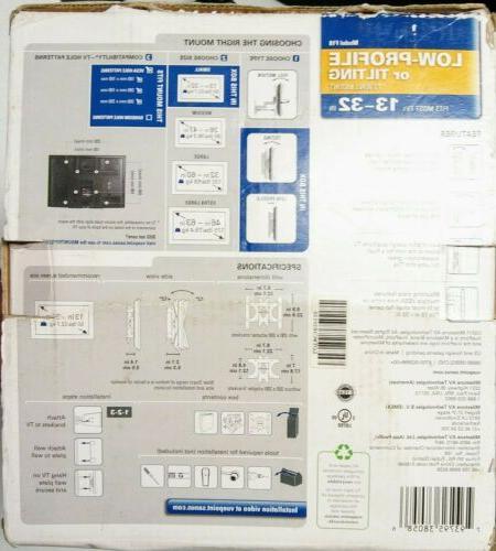 "Flat LED LCD TV 13-32"", profile"