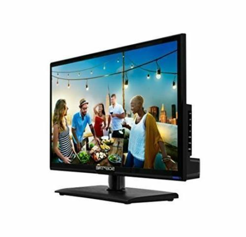 Flat LED TV Backlight 20 Inch HD Built In with Remote
