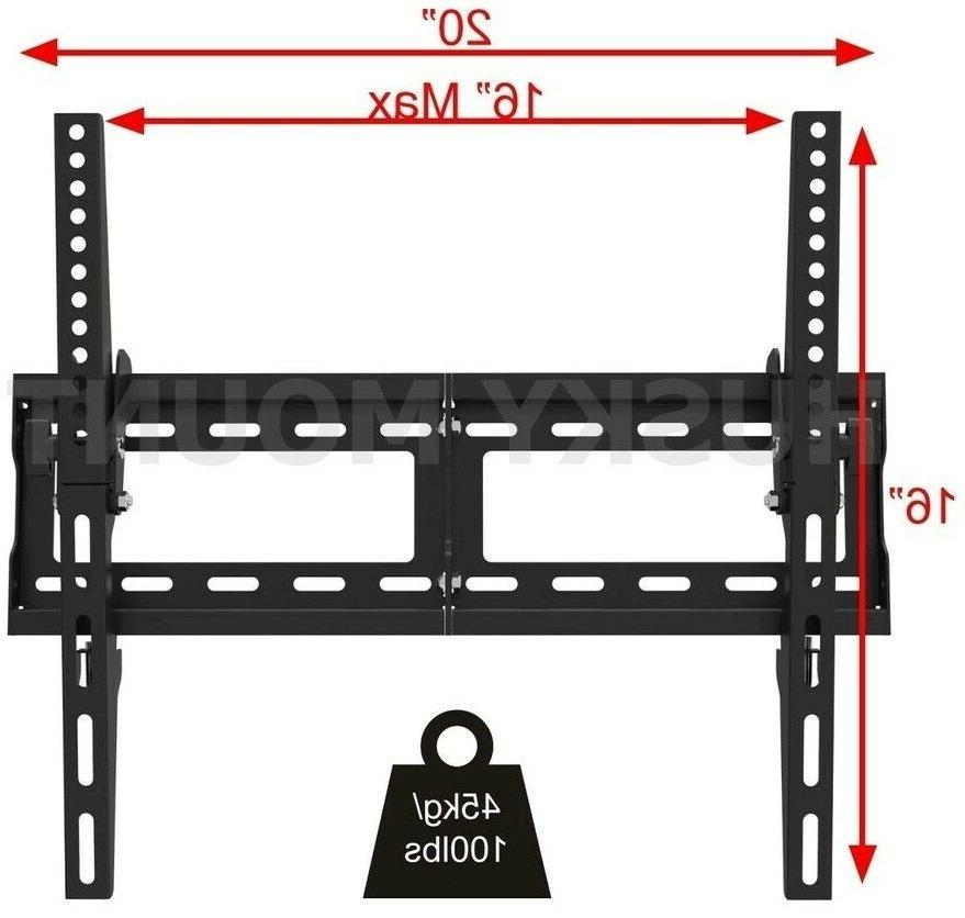 TV Mount Tilt 40 55 65 inch LED LCD Flat Screen