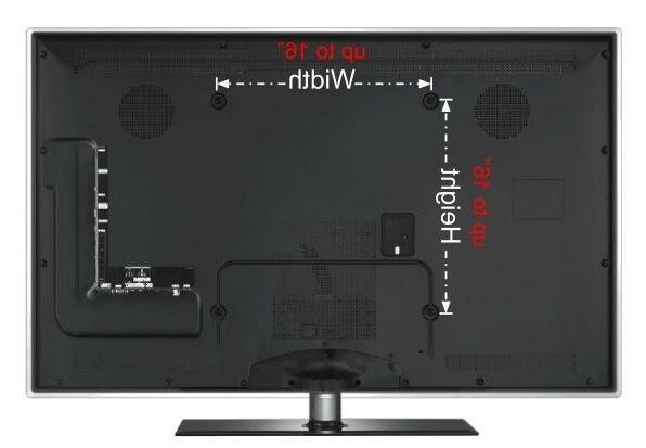 Motion Bracket Fits 32 - LCD Flat