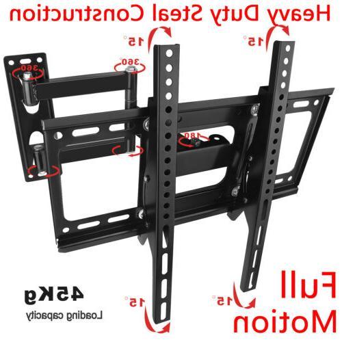 Full Motion TV Wall Mount Swivel Bracket 32 40 42 47 52 Inch
