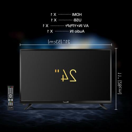 Myonaz 720p 1080p Flat TV 3X HDMI USB