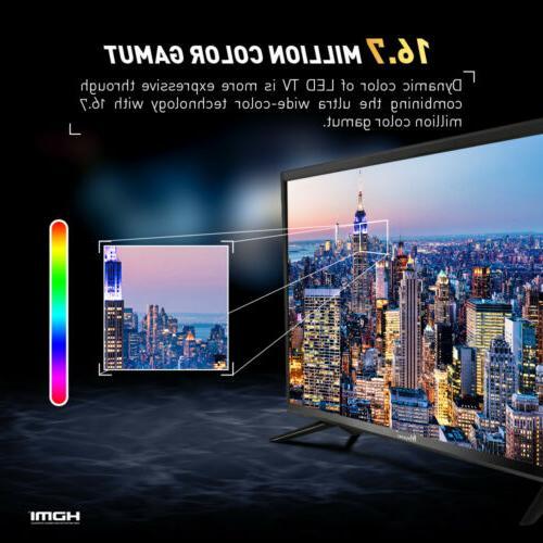 """Myonaz 720p 1080p Flat TV HDMI USB 32"""""""