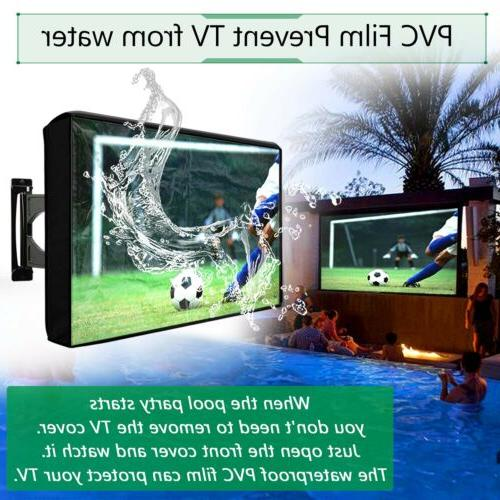 Outdoor Cover Flat Screen Weatherproof Television Protector LED