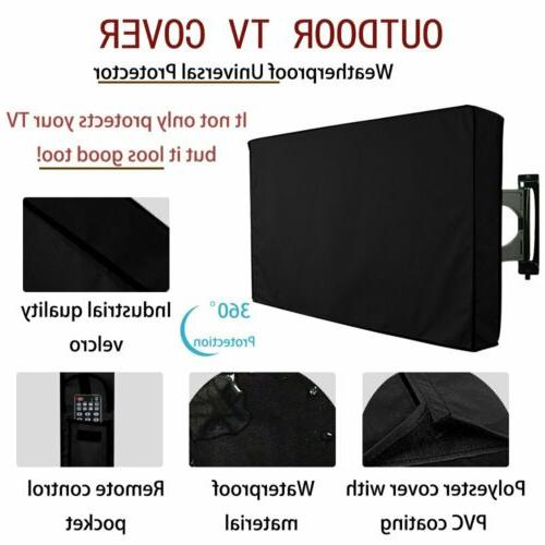 "Outdoor TV Cover Flat Case 30""-58"""