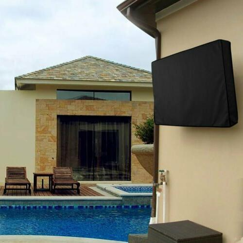 Outdoor Cover Flat Screen Weatherproof Television Case