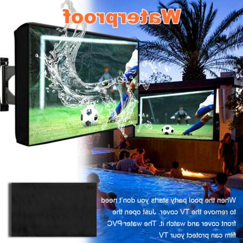Outdoor Flat Television Protector