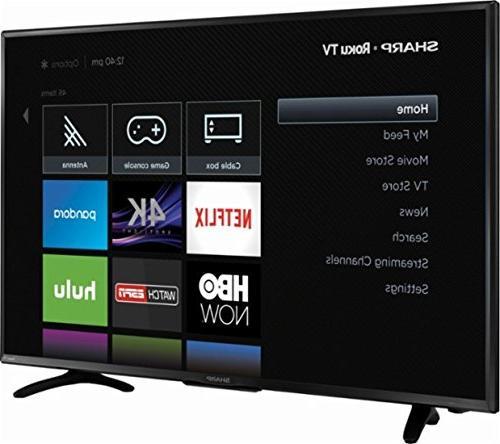 Sharp TV Roku