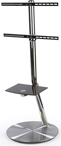 Displays2go STSF414WSV TV Floor Stand for 32 to 60-Inch HDTV