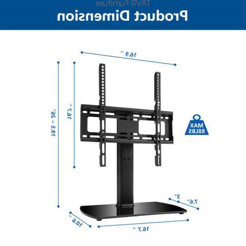 Tabletop TV Swivel Mount for 27''-55'' LED Plasma Screen