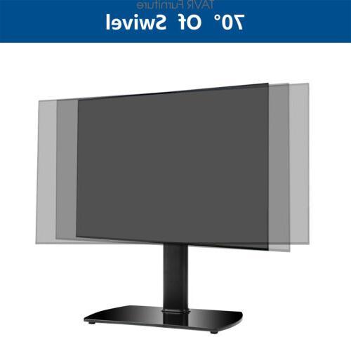 Tabletop TV Stand Swivel Mount LED Plasma Flat Screen TVs