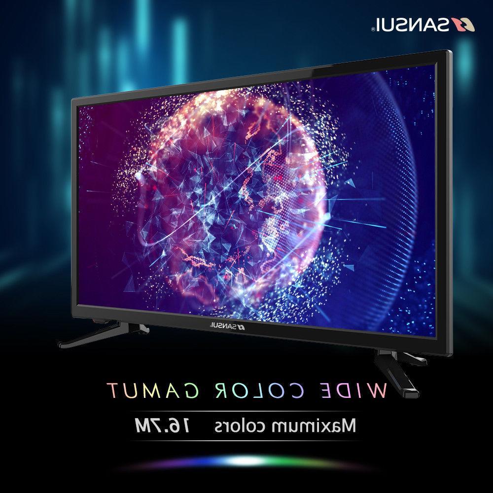 SANSUI TV 24'' TV 1080P with Flat HDMI