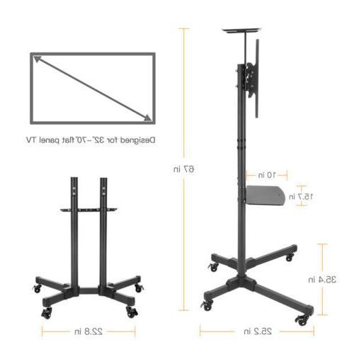 Stand LED Flat AV Top Shelf