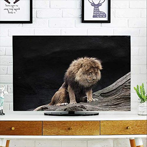 tv dust cover lions zoo