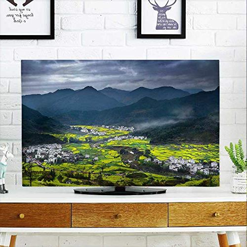 tv dust cover wuyuan spring