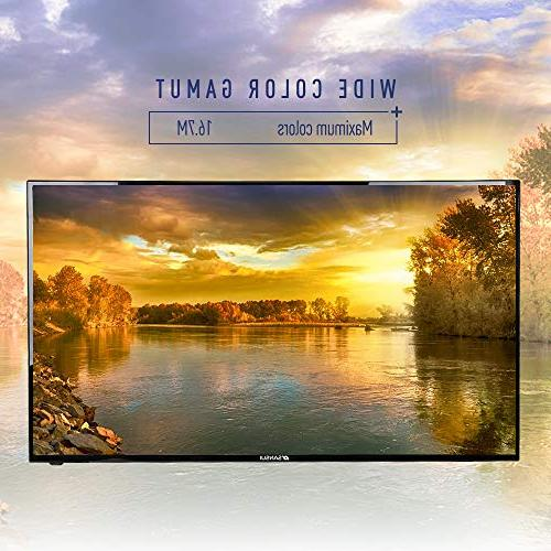 SANSUI TV LED Televisions with Flat HDMI Definition Widescreen Monitor Display x