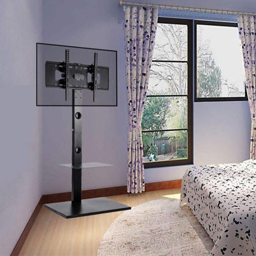 tv floor stand mount dvd shelf
