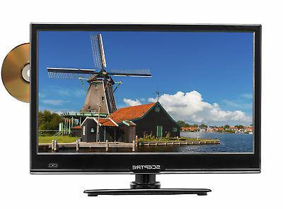 TV HD Sceptre 16 w/ Built-in DVD Player LED 720P HDTV Flat S