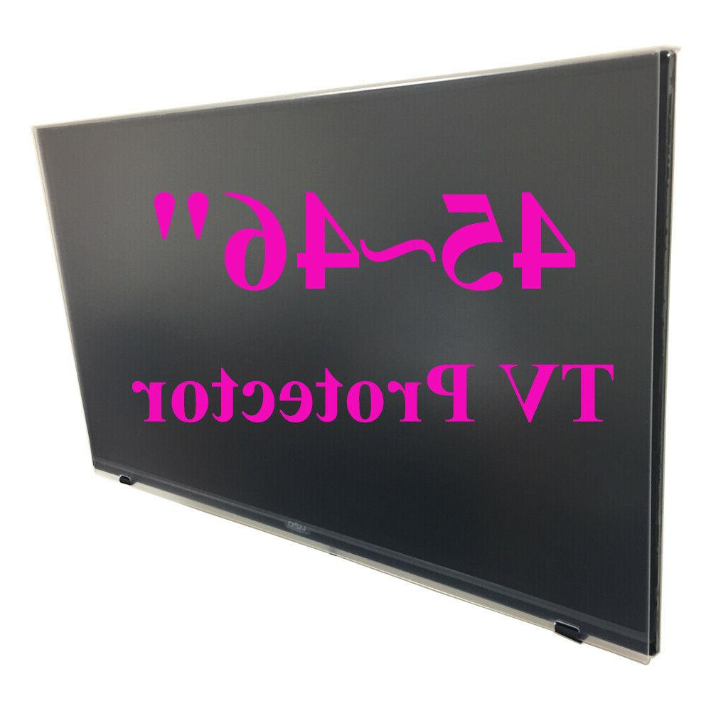 tv screen protector 45 46 inch