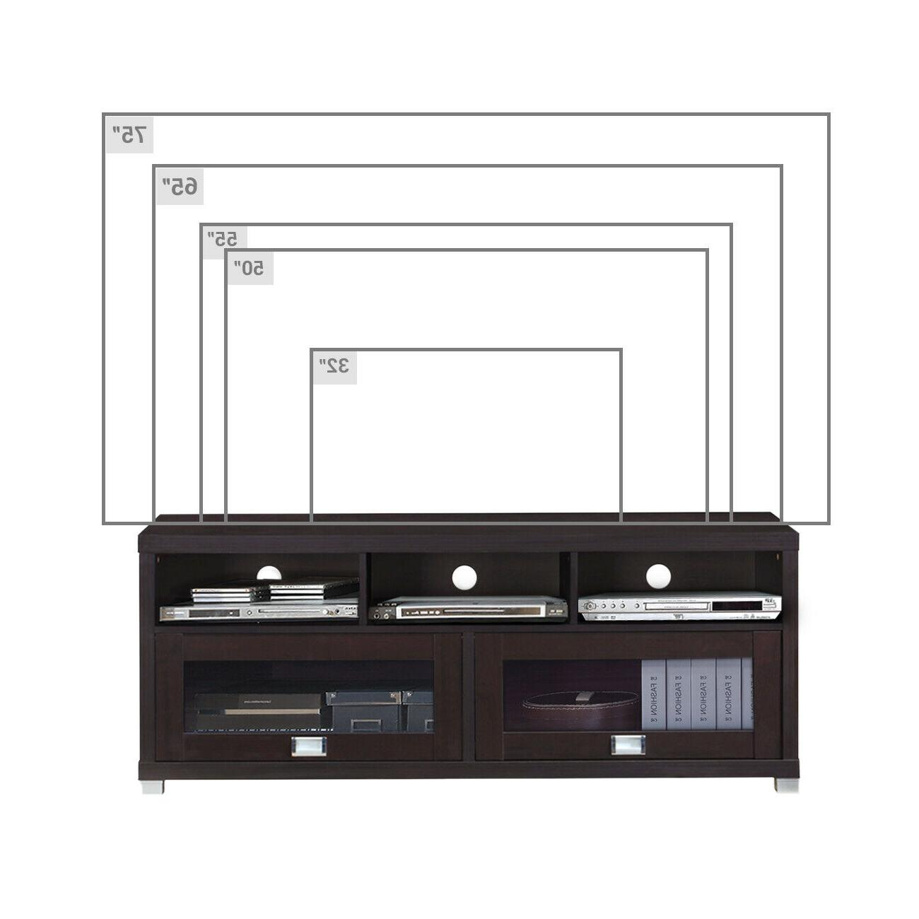 TV Inch Flat Media Home Center