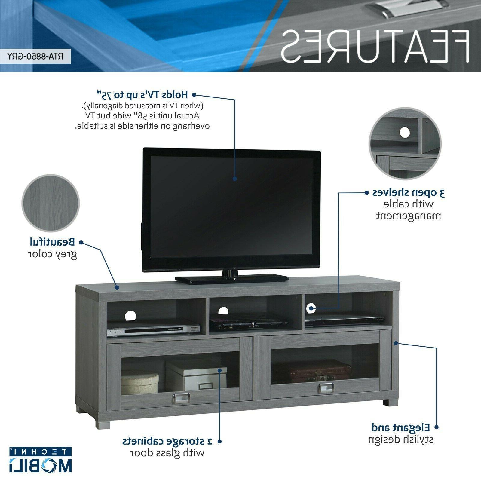 TV Stand Flat Screen Console Home Center Furniture