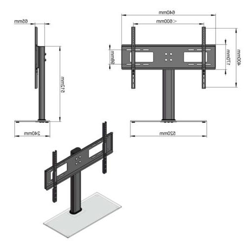 TV Stand Mount Swivel for Flat -