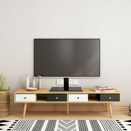 tv stand base with mount swivel height