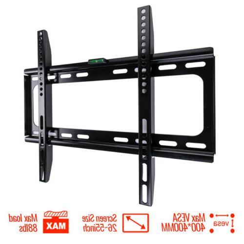 tv wall mount bracket flat