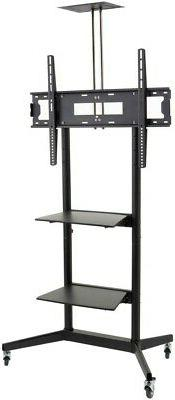 Displays2go TVJT320ND2 Mobile TV Cart with Height Adjustable