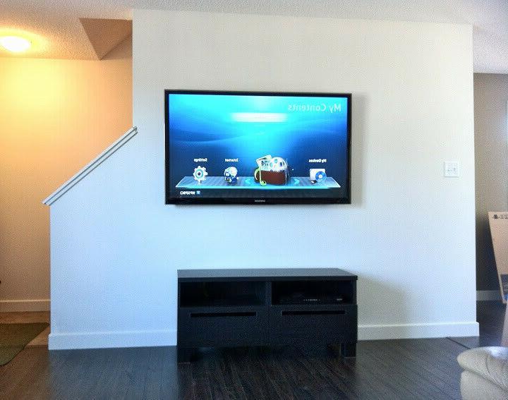 Wall Mount Slim TV Bracket Screen TV's